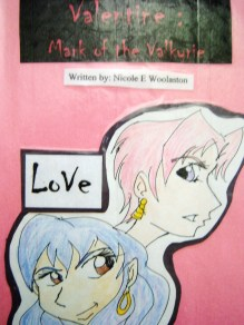 cover of the hand written edition of Valentine 2