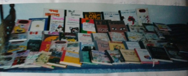 50 handwritten books